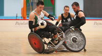 All 20 matches of the Wheelchair Rugby B Division Euros streamed live.